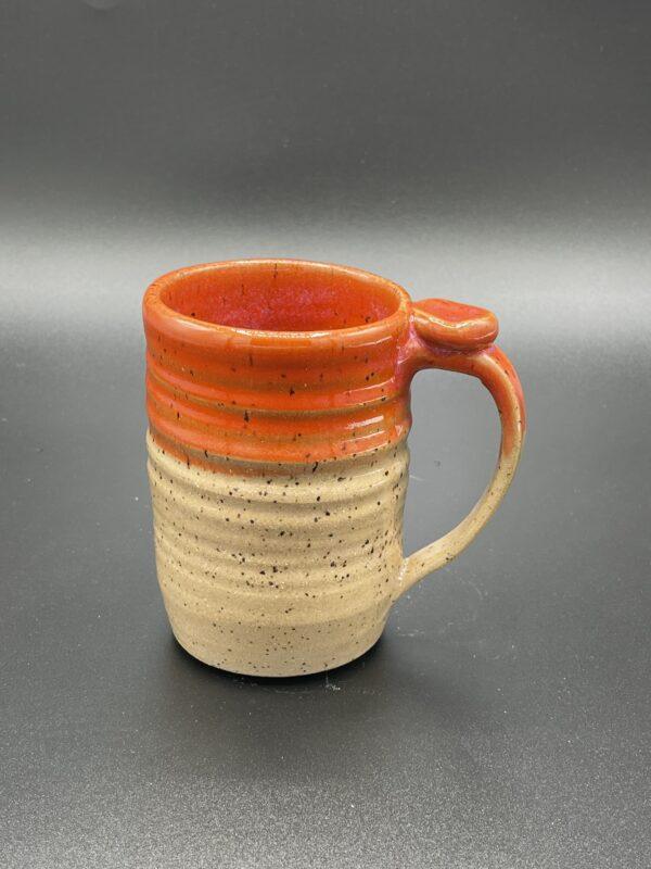 Speckled Orange Mug